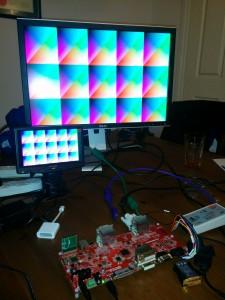 Numato HDMI2USB Prototype driving 2 screens