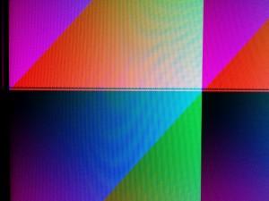 HDMI2USB weird image artifact