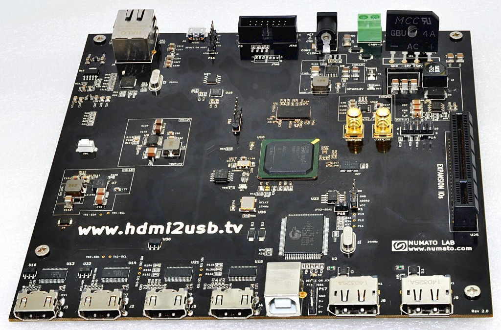 "HDMI2USB ""Production Board"" Version 2"